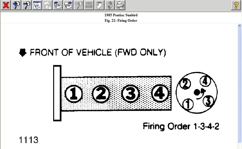 Schematics And Diagrams  How Does The Spark Plug Wire Go