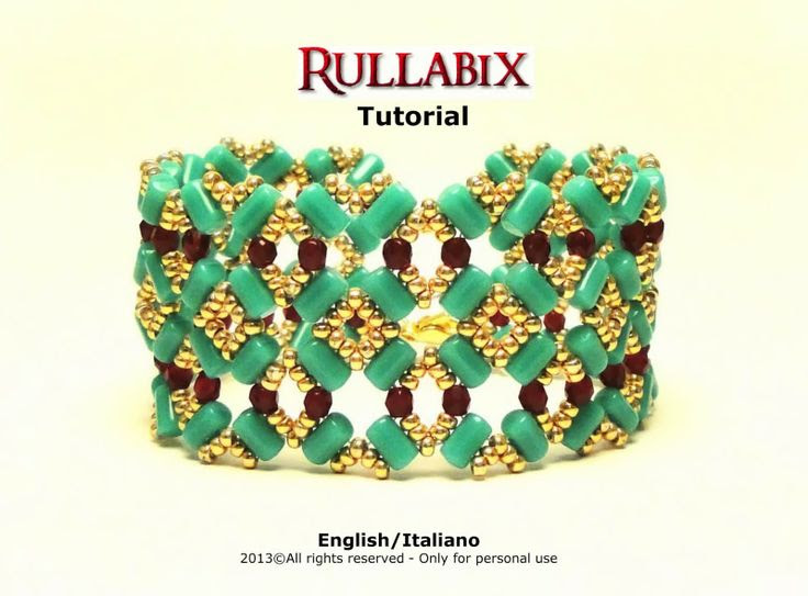 Perle&Bijoux: Rullabix bracelet