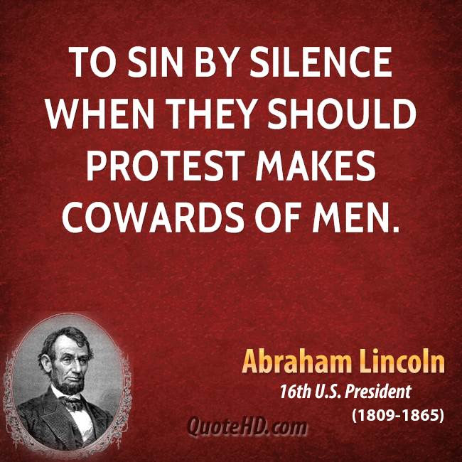 Protest Against Injustice Quotes And Images Quote With Image About