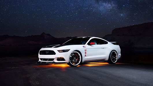 Ford Unveiled Apollo Edition Mustang for EAA Young Eagles Program - IndyaCars