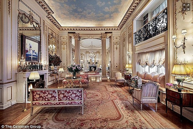 He doesn't like the old?'Ever since Prince Fahd bought the home nearly two months ago, he has had designers and contractors in and out of the place,' a source tells DailyMail.com. 'He is ripping it to shreds'