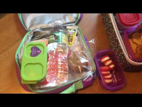What's in Molly's lunchbox | Dr.Seuss Week