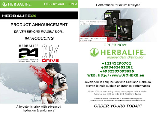 Herbalife Introducing CR7 DRIVE with Cristiano Ronaldo
