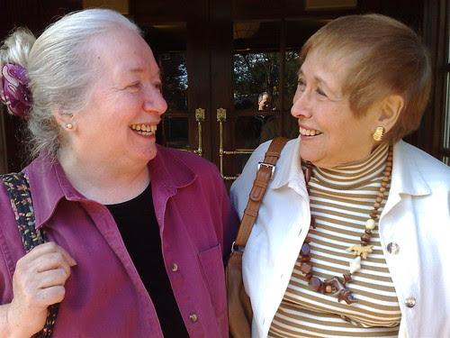 Ronni Bennett and Millie Garfield