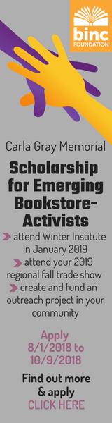 Carla Gray Memorial Scholarship for Emerging Bookseller-Activists