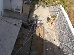 umbrella clothesline paleohora hania chania