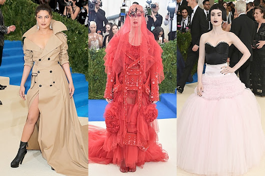 Met Gala 2017: Arrivals at Fashion's Biggest Night (Photos)