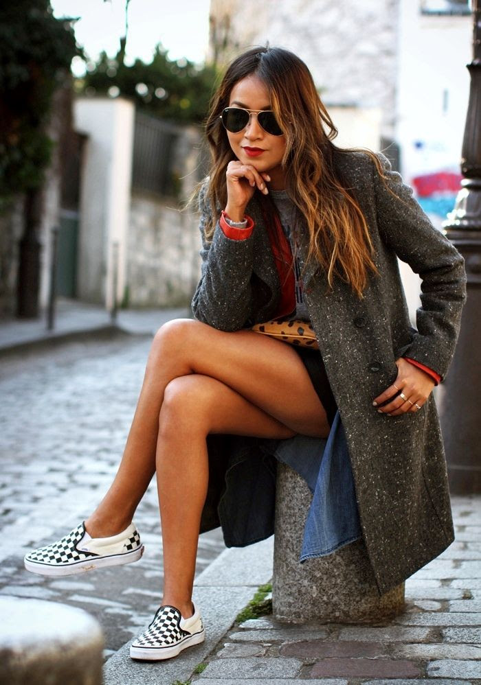 Le Fashion Blog -- 15 Ways To Wear Checkered Vans Slip On Sneakers -- Blogger Style: Aviator Sunglasses -- Via Sincerely Jules -- photo 15-Le-Fashion-Blog-15-Ways-To-Wear-Checkered-Van-Slip-On-Sneakers-Aviator-Sunglasses-Via-Sincerely-Jules.jpg