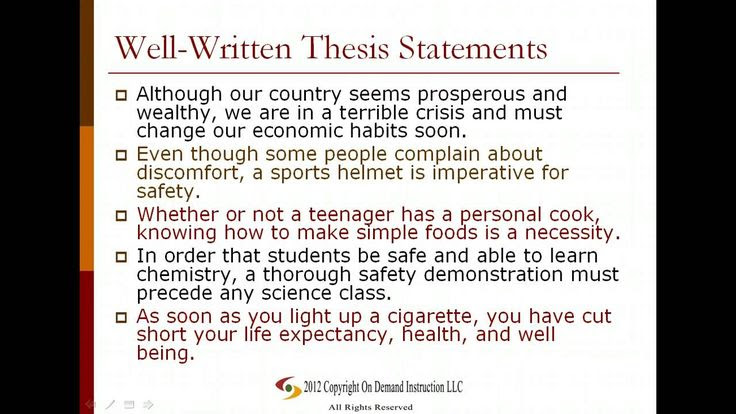 Integrative assessments/critical thinking