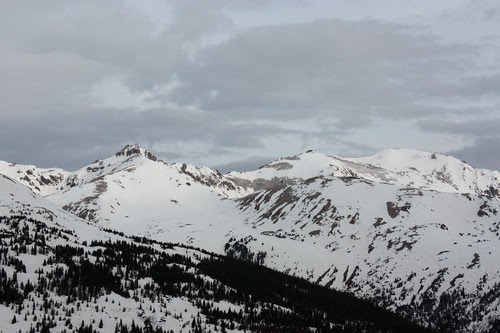 View from Loveland Pass
