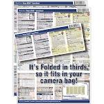 PhotoBert Photo CheatSheet for Nikon D850 Digital SLR Camera TC179-17