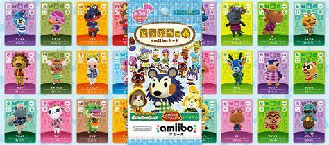 Animal Crossing amiibo Cards   Series Three List