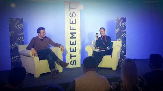 Fireside Chat with @Ned: A conversation with Steemit CEO Ned Scott at Steemfest Lisbon, 3 November 2017 — Steemit