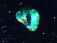 HICO image of Midway Island