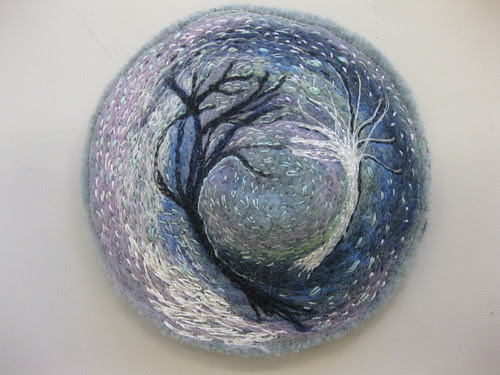 Stitched from Wintry Drawings by kayla coo