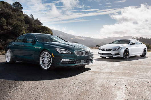 2017 BMW M6 Gran Coupe vs. 2016 BMW Alpina B6 xDrive Gran Coupe