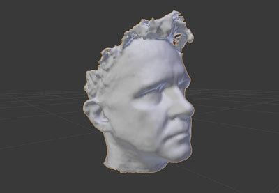 How to Make a 3D Model of Your Head Using Blender and a RealSense Camera