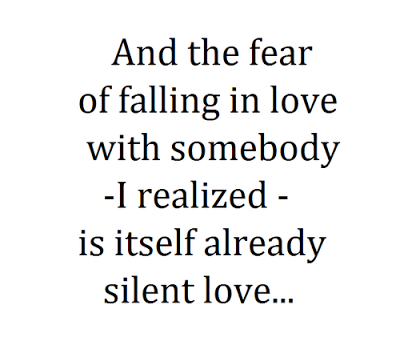 Quotes About Silent Lover 25 Quotes