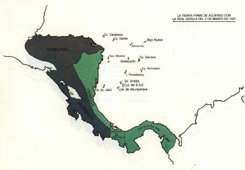 Resultado de imagen de provincia de veragua y  tierra firme
