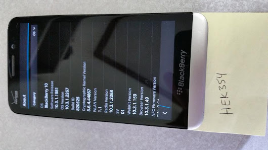 Blackberry Z30 (Verizon) For Sale - $135 on Swappa (HEK354)