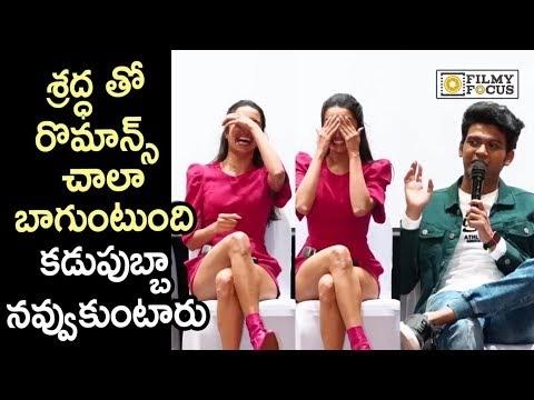 Naveen Polishetty Flirts with Shraddha Kapoor