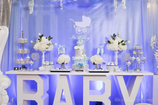 Whimsical Carriage Baby Shower - Baby Shower Ideas - Themes - Games