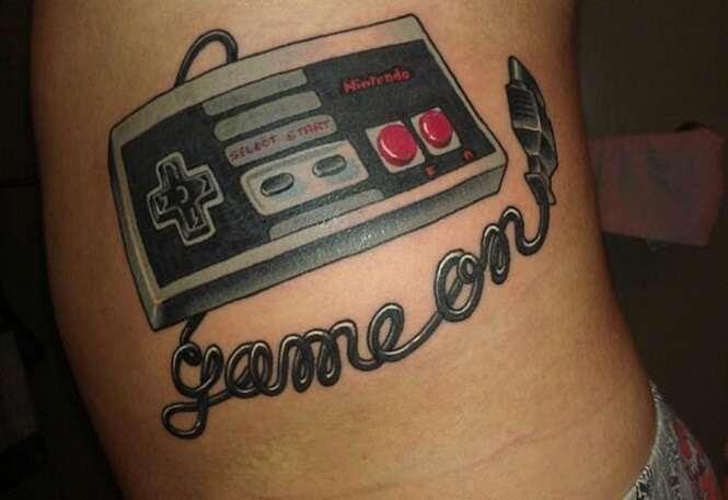 Tatuagens sensacionais que foram inspiradas em games