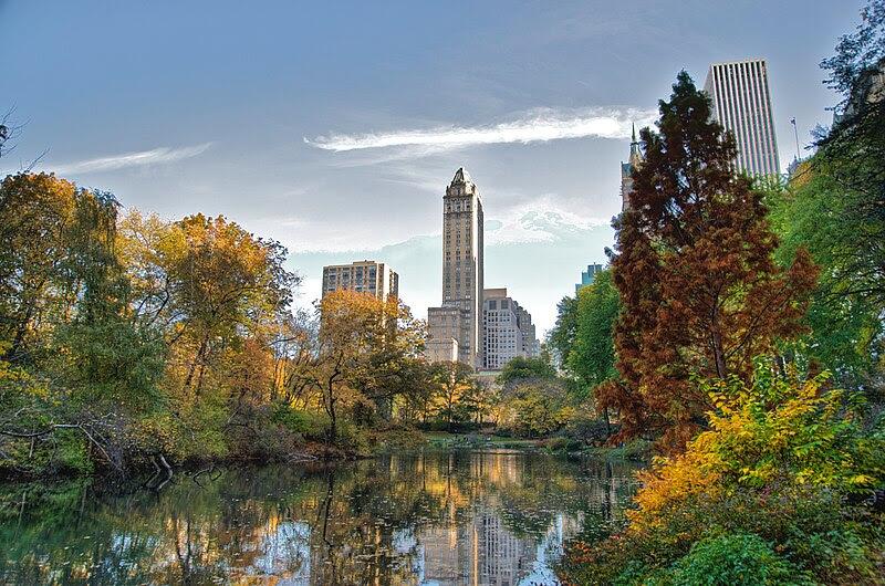 File:Southwest corner of Central Park, looking east, NYC.jpg