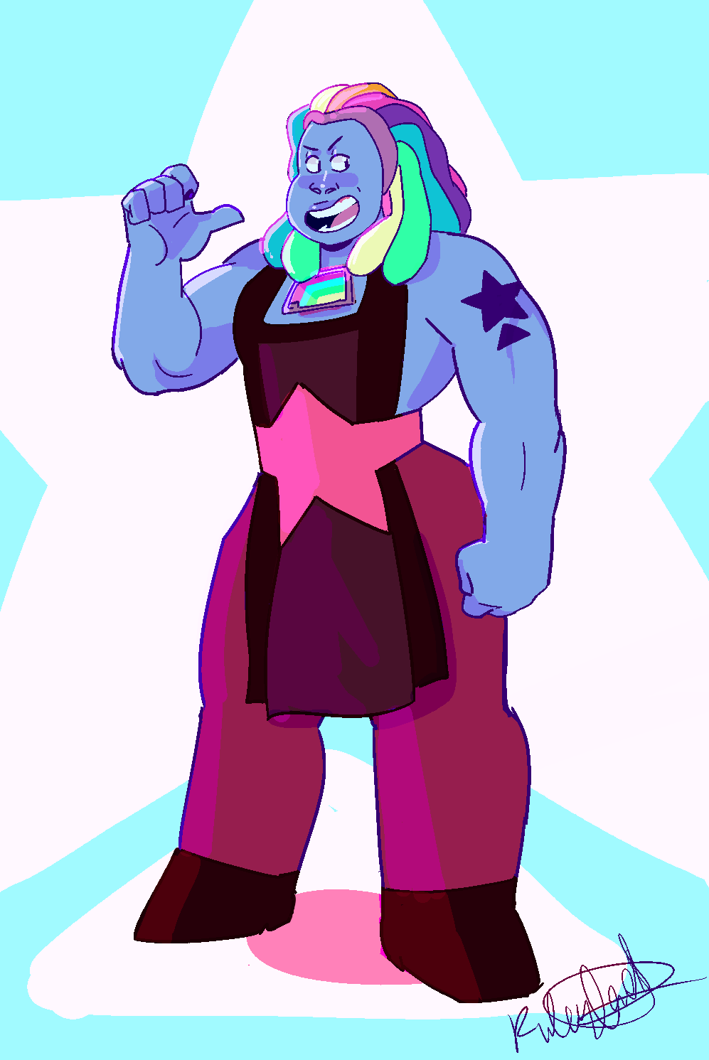 bismuth is so Large i love it