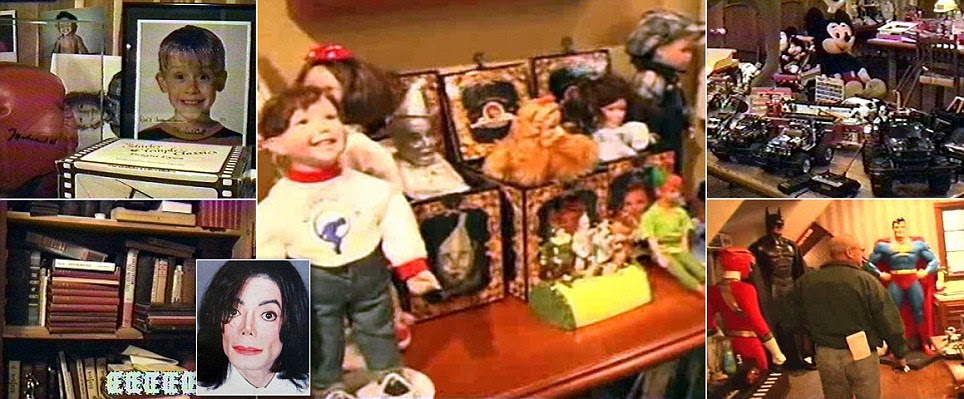 Michael Jackson's secret underage sex closet revealed in Neverland raid video