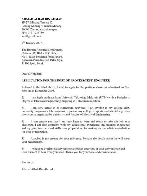 Contoh Cover Letter Bahasa Inggris Fresh Graduate Kumpulan Contoh Makalah Doc Lengkap