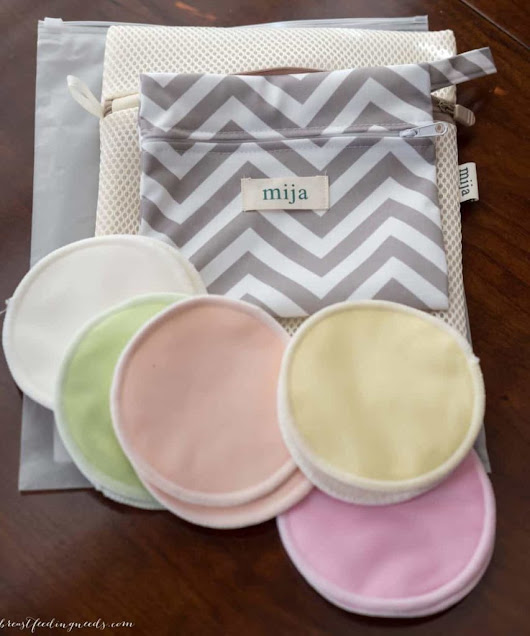 Mija Organic Nursing Pads Giveaway! - Breastfeeding Needs