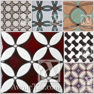 Modern geometrical patterns