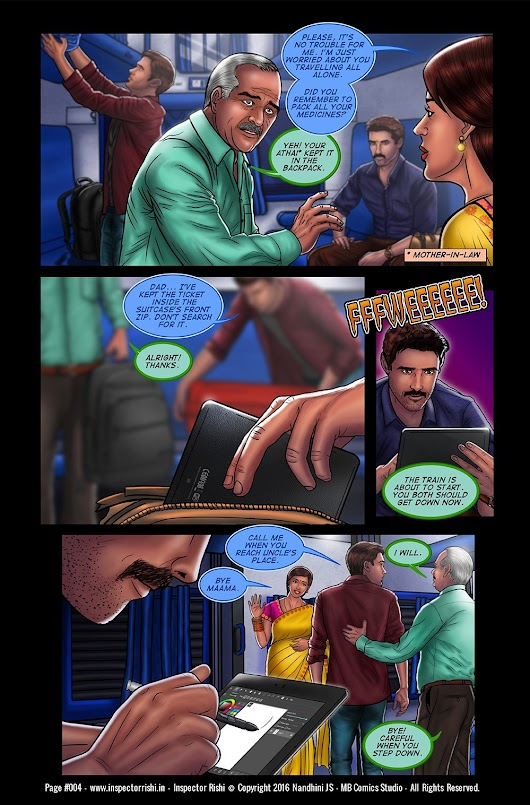 Inspector Rishi - Page 4 The biggest challenge in being an indie...