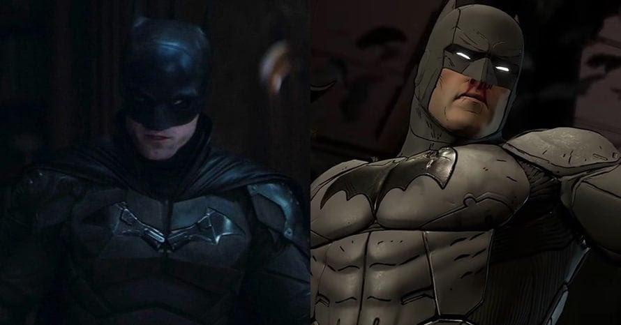 Robert Pattinson The Batman Telltale Batsuit