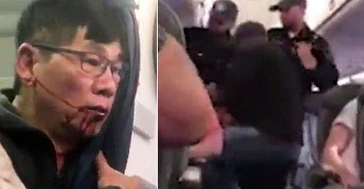 United Airlines Passenger Body-Slammed By Police & Dragged Off Overbooked Flight