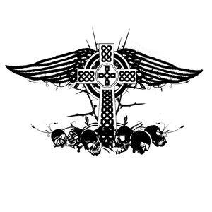 Angel Wings Tattoos Tribal Celtic Cross Design Tattoomagz
