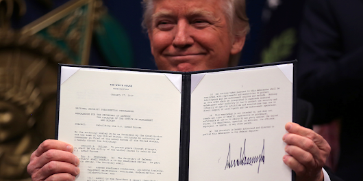 Trump has already signed 19 executive actions — here's what each one does