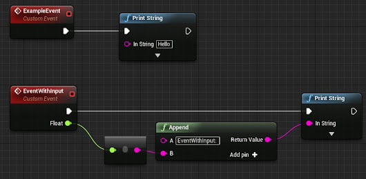 UE4 Tips: Calling events from Console