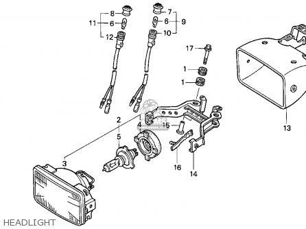 Honda Trx300ex Fourtrax 300ex 1997 (v) Usa parts list ...