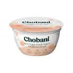 Chobani Greek Yogurt Low-Fat Clingstone Peach 5.3oz (PACK OF 12)