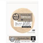 La Tortilla Factory Non-GMO Hand Made Style Tortillas, White Corn & Wheat, 8 Ea (Pack of 12)