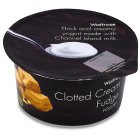 Waitrose clotted cream fudge yogurt