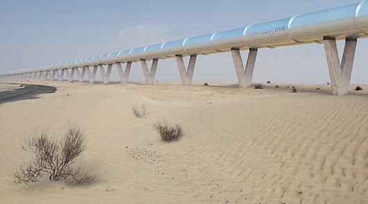 Dubai can be the first city in the world that uses the Hyperloop system