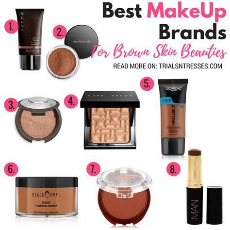 Best Makeup Brands For Brown Skin Beauties   Trials N Tresses