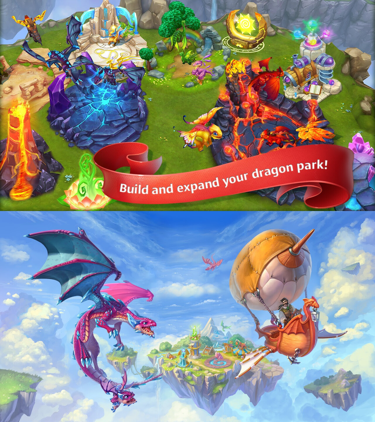 Dragon�s World - Android, iOS - Free