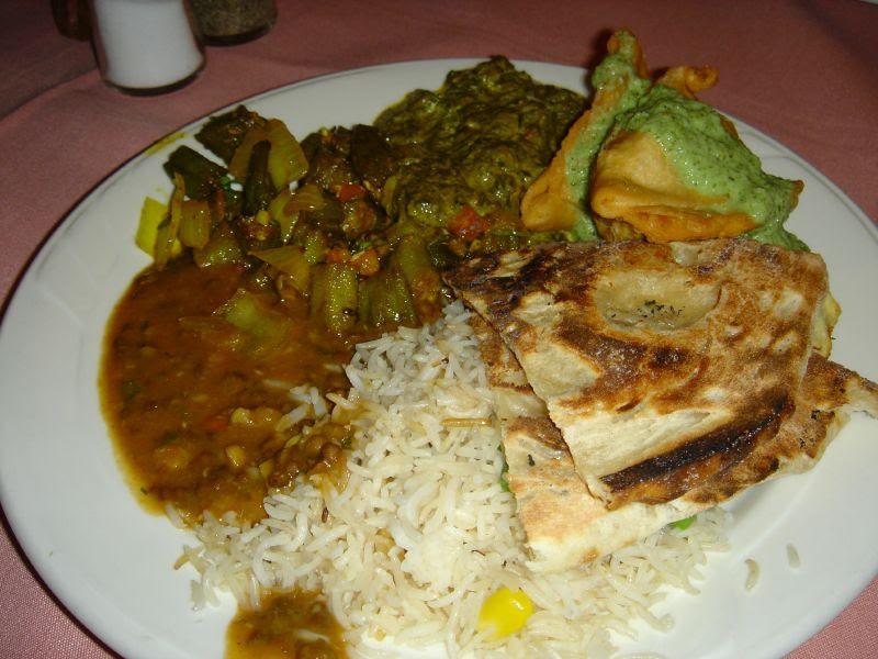 Lunch Buffet - Vegetarian Plate