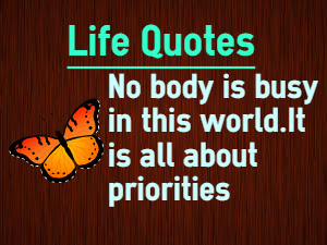 Priority Quotes Images On Favimcom