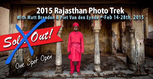 Rajasthan Photo Workshop 2015