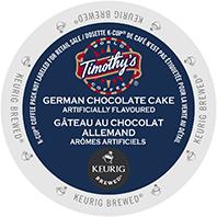 Timothys German Chocolate Cake Keurig Kcup coffee